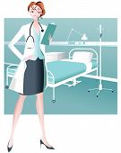 Female Doctor/Healthcare Practitioner