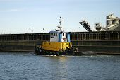 Yellow Tugboat