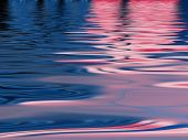 Colorful water reflection pattern for backgrounds and fills