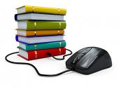 stock photo of mouse  - Internet education - JPG