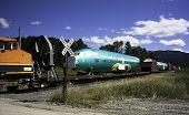Airplane Fuselage On Railcar