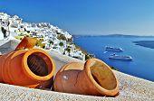 Traditional Santorini