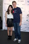 LOS ANGELES - OCT 6:  Miranda Cosgrove, Jack Wagner attend the Light The Night Walk at Sunset Gower Studios on October 6, 2012 in Los Angeles, CA