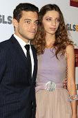 LOS ANGELES - OCT 5:  Rami Malek, Angela Sarafyan arrives at the 8th Annual GLSEN Respect Awards at