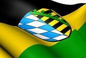 Coburg, Deutschland Fahne.