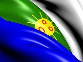 Flag Of Las Piedras, Puerto Rico.