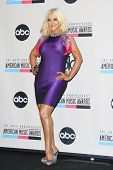 LOS ANGELES - OCT 9: Christina Aguilera at the 40th Anniversary American Music Awards nominations pr