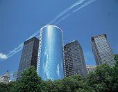 Circular Glass Building poster