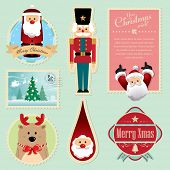 image of nutcrackers  - Christmas decorations element 3 - JPG