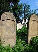 The Remuh Cemetery in Krakow Poland