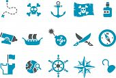 Piraten-Icon-Set