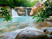 Waterfall at the Rinc�n de la Vieja National Park, Costa Rica
