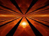 Rays Of Red Dawn, Fiery Horizon