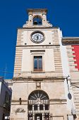 Clocktower. Putignano. Puglia. Italy.