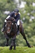 25/06/2011 HICKSTEAD ENGLAND, EL THUDER ridden by Louise  Pavitt (GBR) competing in the Bunn Leisure