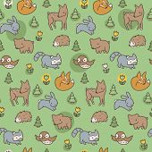 Woodland Meadow Pattern