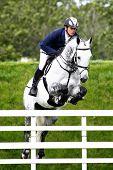 24/06/2011 HICKSTEAD ENGLAND, CENTRO ridden by Torben  K�?�?�?�¡hlbrandt (GER) competing in the