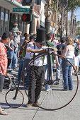 Doo Dah Parade Penny-farthing Bike