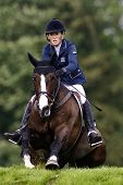 25/06/2011 HICKSTEAD ENGLAND, HIGHLAND CRUISER II ridden by Harriet  Nuttall (GBR) 2nd placed rider