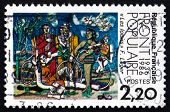 Postage Stamp France 1986 Leisure, By Fernand Leger
