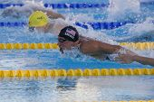 Jul 30 2009; Rome Italy; Ryan Lochte (USA) competing in the mens 200m individual medley final, the r