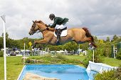 24/06/2011 HICKSTEAD ENGLAND, LOUGHNATOUSA W B ridden by Paul  Beecher (IRL) competing in the Bunn L