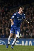 LONDON ENGLAND 23-11-2010. Chelsea's midfielder Josh McEachran in action during the UEFA Champions League group stage match between Chelsea FC and MSK Zilina