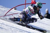 SOELDEN AUSTRIA OCT 26, Bode Miller USA  competing in the mens giant slalom race at the Rettenbach G