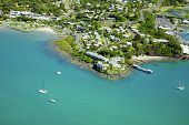 Aerial Whitsundays Airlie Beach