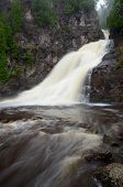foto of caribou  - Caribou Falls of the Caribou River in Northern Minnesota