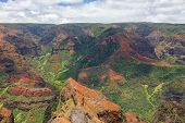 Waimea Canyon colors