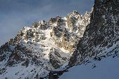 Sharp Mountain Edge