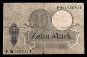 Bank Note Of Keiser Germany. 1906. Reverse.