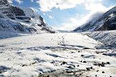 Athabasca Glacier,canadian Rockies,canada