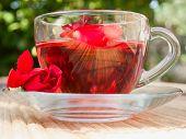 Natural Tea From Rose-petals