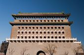 pic of archery  - The Zhengyangmen Archery Tower  - JPG