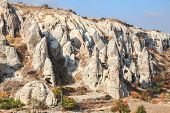 image of chimney rock  - Fairy chimney rock formation in cappadicia - JPG