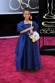 Quvenzhane Wallis at the 85th Annual Academy Awards Arrivals, Dolby Theater, Hollywood, CA 02-24-13
