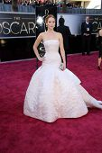 Jennifer Lawrence at the 85th Annual Academy Awards Arrivals, Dolby Theater, Hollywood, CA 02-24-13