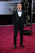 Channing Tatum at the 85th Annual Academy Awards Arrivals, Dolby Theater, Hollywood, CA 02-24-13