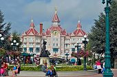 Disneylend park.