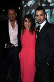 Terrence Howard, Noomi Rapace, Colin Farrell at the