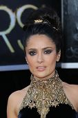 Salma Hayek at the 85th Annual Academy Awards Arrivals, Dolby Theater, Hollywood, CA 02-24-13