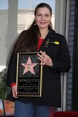 Maria Burton at the Richard Burton Posthumous Star On The Hollywood Wallk of Fame ceremony, Hollywoo