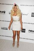 Nicki Minaj at the Elton John Aids Foundation 21st Academy Awards Viewing Party, West Hollywood Park