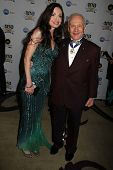 Buzz Aldrin and Carolyn Hollingsworth at the 23rd Annual Night Of 100 Stars Black Tie Dinner Viewing