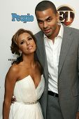 WEST HOLLYWOOD - AUGUST 27: Eva Longoria and Tony Parker at the 10th Annual Entertainment Tonight Em