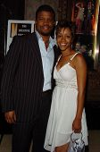 HOLLYWOOD - AUGUST 15: Sharif Atkins and Chrystee Pharris at the Los Angeles Premiere of