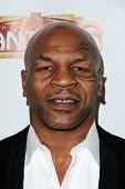 Mike Tyson at the Opening of