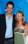 PASADENA, CA - JULY 19: Peter Cambor and Jennifer Westfeldt at the Disney ABC Television Group All Star Party on July 19, 2006 at Kidspace Children's Museum in Pasadena, CA.